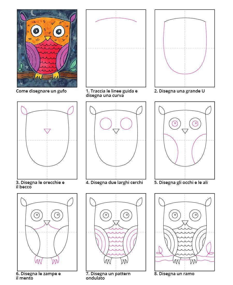 Conosciuto Impara a disegnare con CercoAsilo #2 - 3 facili disegni per il tuo  JI59
